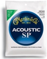 Martin MSP4600 SP 92/8 Phosphor Bronze Acoustic Guitar Strings (.010-.047 Extra Light 12-String)