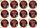 Martin MSP6100 SP Lifespan 80/20 Bronze Acoustic Strings (.012-.054 Light 12-Pack)