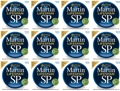 Martin MSP6200 SP Lifespan 80/20 Bronze Acoustic Strings (.013-.056 Medium 12-Pack)