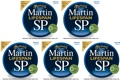 Martin MSP6200 SP Lifespan 80/20 Bronze Acoustic Strings (.013-.056 Medium 5-Pack)