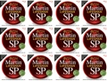 Martin MSP7100 SP Lifespan 92/8 Phosphor Bronze Strings (.012-.054 Light 12-Pack)