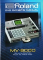 Roland MV-8000 DVD Owner's Manual
