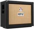 Orange PPC212-OB 2x12 Open Back Speaker Cabinet (Black)
