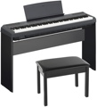 Yamaha P-115 Digital Piano (Black) - with Stand and Bench