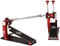 Trick Drums Pro 1-V Bigfoot Double Pedal - Black Widow Edition