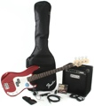 Squier P Bass Pack with Rumble 15 Amplifier (Metallic Red)