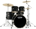 PDP Mainstage Complete Drum Kit (Black Metallic)