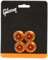 Gibson Accessories Top Hat Knobs (Vintage Amber)