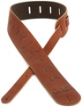 PRS Leather Bird Strap (Brown)