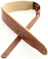 PRS Leather Signature Strap (Cognac and Tan)