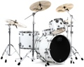 DW Performance Series 4-piece Shell Pack (Ice White)