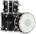 DW Performance Series Tom/Snare Pack (Ebony Stain 3-piece)