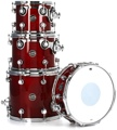 DW Performance Series Tom/Snare Pack (Dark Cherry Stain 4-piece)