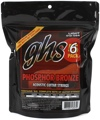 GHS S325 Phosphor Bronze Acoustic Guitar Strings (.012-.054 - Light 6-Pack)