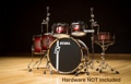 Tama Superstar Custom Hyper-Drive 6-pc Shell-Pack (Red Titanium Burst)