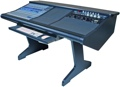Malone Design Works StudioLive 24 Desk with One Rack Bay