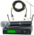 Shure SLX24/SM86 Mic Month 2013 Bundle (SM86 w/Stand & Cable)