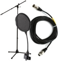 Sweetwater MS7701B (Stand, Cable & Pop Filter)