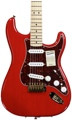Fender Deluxe Player's Strat (Red Transparent)