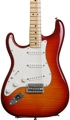 Fender Standard Stratocaster Plus Top Left-Handed (Maple, Aged Cherry Burst)