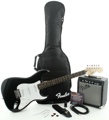 Squier Affinity Strat Pak SSS with Frontman 10G Amp - Black