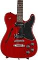 Fender Jim Adkins JA-90 Telecaster Thinline (Crimson Transparent)