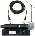 Shure ULXD24/B58 Mic Month 2013 Bundle (Beta 58A w/Stand & Cable)