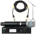 Shure ULXD24/B87A Mic Month 2013 Bundle (Beta 87A w/Stand & Cable)