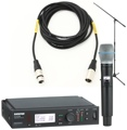 Shure ULXD24/B87C Mic Month 2013 Bundle (Beta 87C w/Stand & Cable)