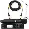 Shure ULXD24/SM87 Mic Month 2013 Bundle (SM87 + Stand & Cable)