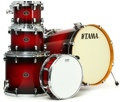 Tama Silverstar Custom 5-Piece Drum Kit (Transparent Red Burst)