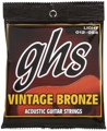 GHS VN-L Vintage Bronze 85/15 Acoustic Strings (.012-.054 - Light)
