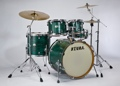 Tama VT52KS Silverstar Shell Kit LTD (Satin Green Tamo Ash)