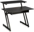 On-Stage Stands WS7500 Wooden Workstation - Black