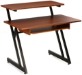 On-Stage Stands WS7500 Wooden Workstation - Rosewood/Black Steel WS7500RB-medium