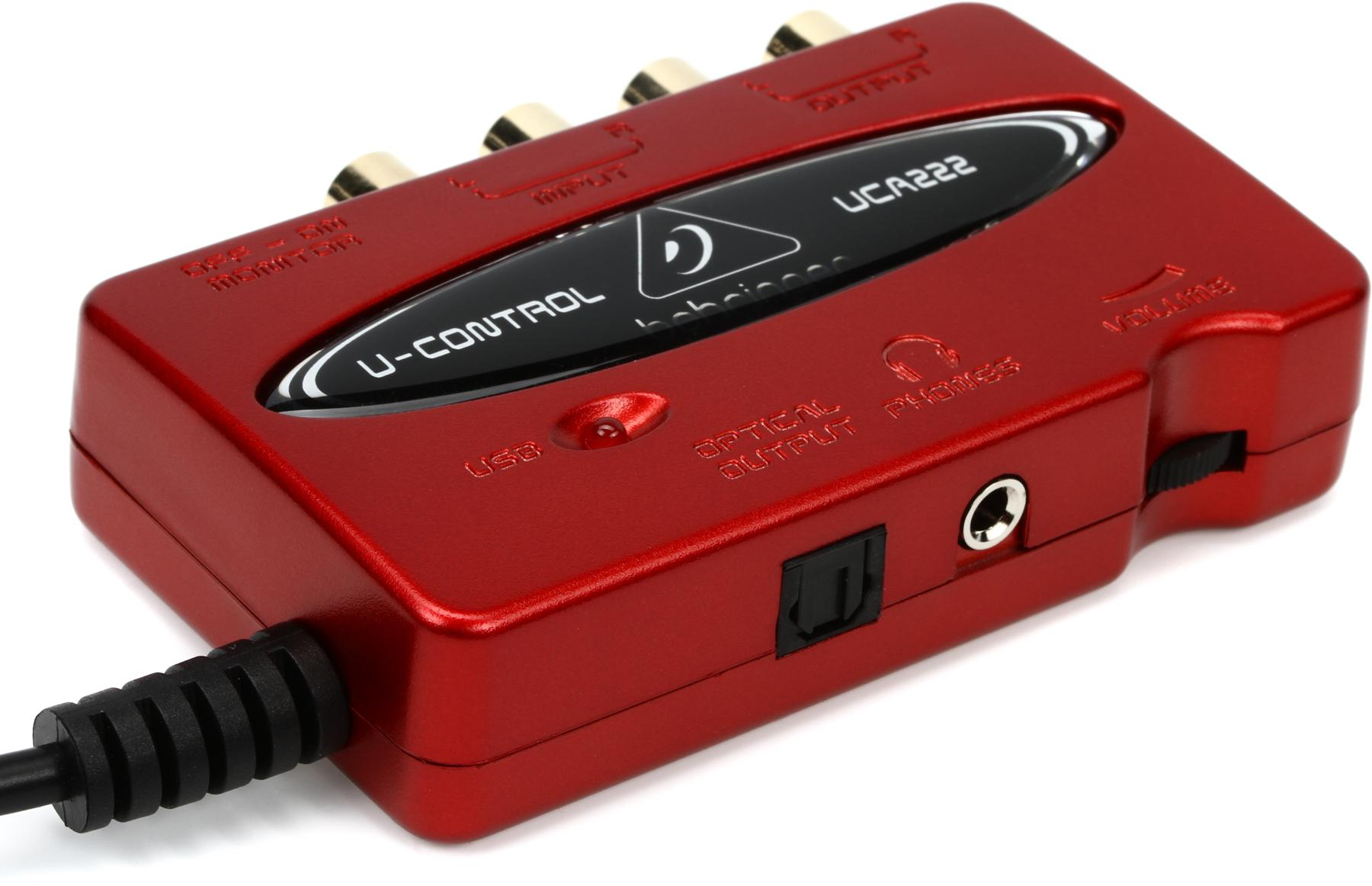 How To Get The Behringer UCA  U-Control To Work On ...