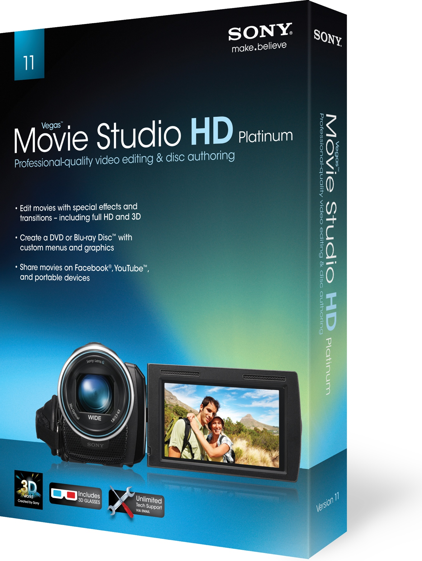 Sony vegas movie studio platinum hd 11