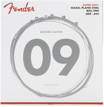 Fender Accessories 250L Nickel-Plated Steel Electric Strings (.009-.042 - Light)