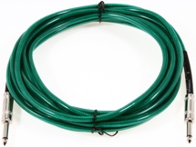 Fender Accessories 18' Guitar Cables - Surf Green