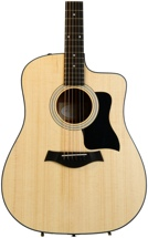 Taylor 110ce Dreadnought (Cutaway, Electronics, Natural)