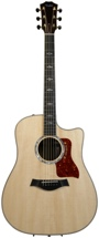 Taylor 810ce Dreadnought (Natural, Cutaway)