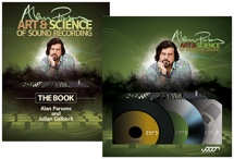 Sweetwater Alan Parsons Art & Science of Sound Recording  - Book & DVD Bundle!