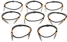 Pro Co 3' Excellines Balanced Patch Cable 8-Pack (3' 8-Pack)
