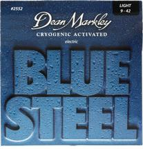 Dean Markley 2552 Blue Steel Electric Guitar Strings (.009-.042 Light)