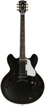 Gibson Memphis ES-335 Dot Satin Finish (Trans Black)