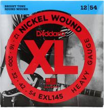 D'Addario EXL145 Nickel Wound Electric Guitar Strings (.012-.054 Heavy)