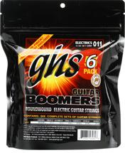 GHS GBM-5 Boomers Electric Strings (.011-.050 Medium 5-Pack)