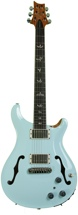 PRS Hollowbody II (Baby Blue w, Nat Back & Sides)