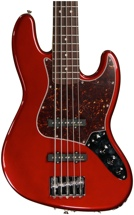 Fender Deluxe Active Jazz Bass V (Candy Apple Red)