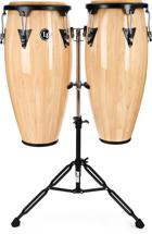 Latin Percussion Aspire Wood Conga Set (Natural)